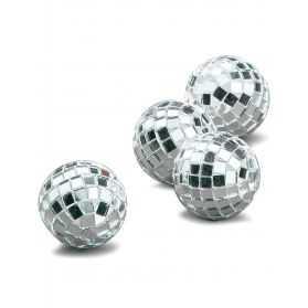 Petites boules à facettes pour déco de table thème Disco
