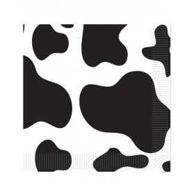 Serviettes en papier Vache normande