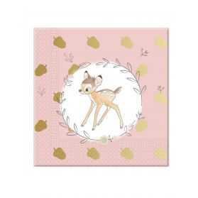 Serviettes en papier Bambi