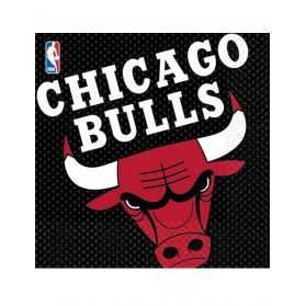 Serviettes en papier Chicago Bulls