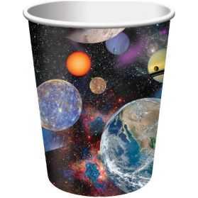 Gobelets en carton thème l'Espace