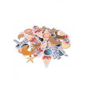 Confettis de table thème l'Espace