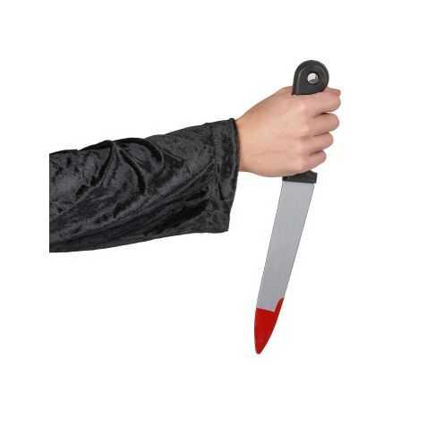 Long Couteau ensanglanté