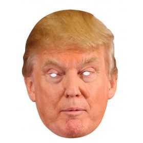 Masque Donald Trump en carton