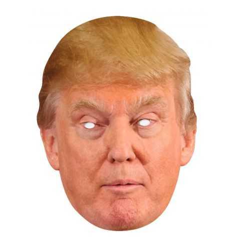 Masque Donald Trump en carton