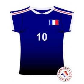 Décor Maillot Equipe de France