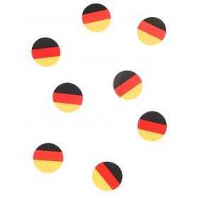 Confettis de table aux couleurs du drapeau de l'Allemagne