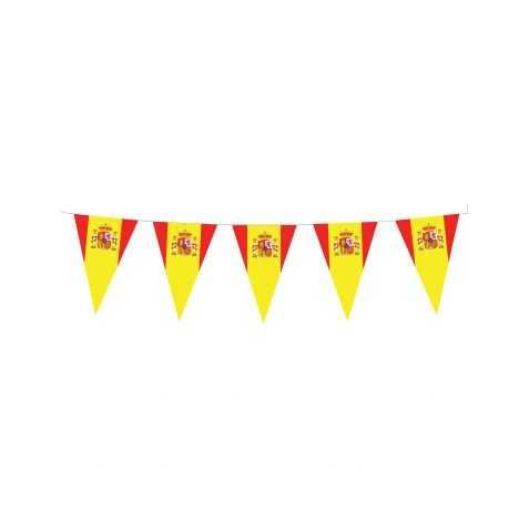 Guirlande pavillons drapeau Espagnol