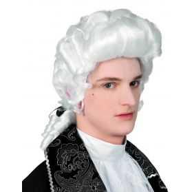 Perruque blanche de Marquis