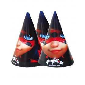 Masques Ladybug pour invités gouter anniversaire