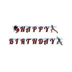 Guirlande Joyeux anniversaire Ladybug