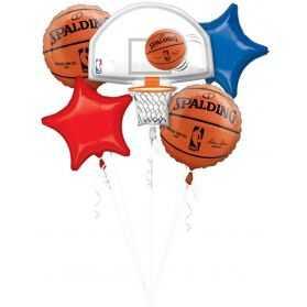 Kit déco Ballons thème basket NBA