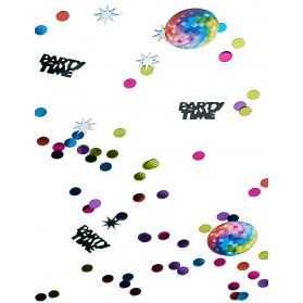 Confettis de table déco Disco