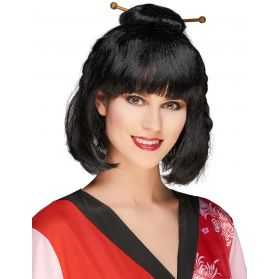 Perruque de Femme Asiatique