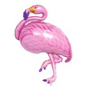 Ballon gonflable Flamand rose