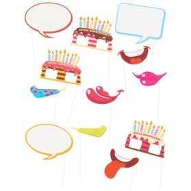 Accessoires Photobooth pour anniversaire