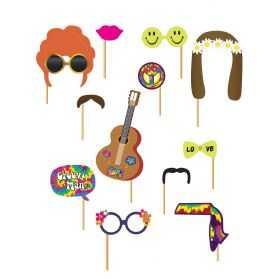 Accessoires Photobooth soirée Hippie