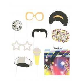 Accessoires Photobooth soirée Disco