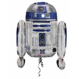Ballon Star Wars en forme de R2D2
