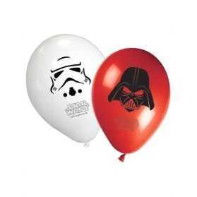 Ballons gonflables déco d'anniversaire Star Wars