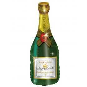 Ballon gonflable en forme de Bouteille de Champagne