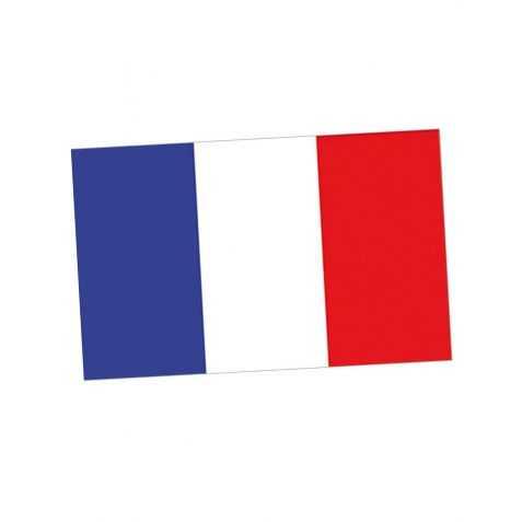 Pavillon aux couleurs de la France