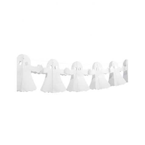 Guirlande de Fantômes en papier