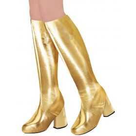 Bottes Disco dorées