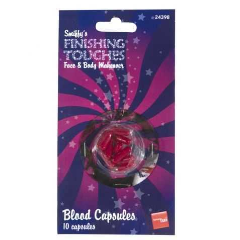Boite de 10 capsules de faux Sang