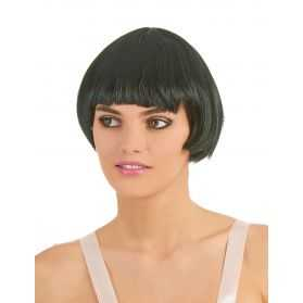 Perruque cheveux courts noirs style Liza