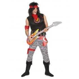 Déguisement Chanteur Hard Rock