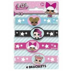 Bracelets élastiques poupées LOL