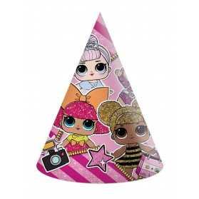 Chapeaux de fête poupées LOL