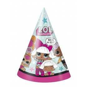 Chapeaux gouter anniversaire poupées LOL