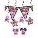 Kit de décoration anniversaire poupées LOL