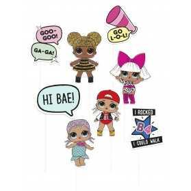 Accessoires Photobooth poupées LOL