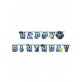 Guirlande personnalisable Happy Birthday Battle Royale
