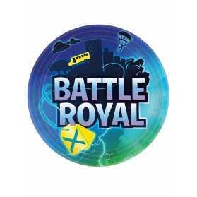 Assiettes anniversaire Battle Royale