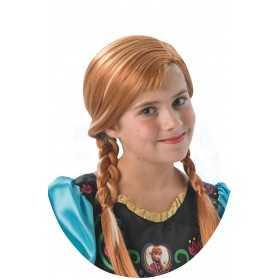 Perruque Anna La Reine des Neiges