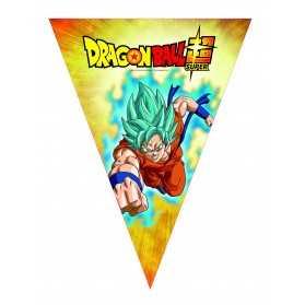 Guirlande fanions en papier Dragon Ball Super 360 cm