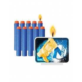 11 Bougies d'anniversaires Nerf