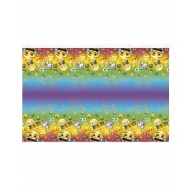 Nappe en plastique Emoji Rainbow 137 x 213 cm