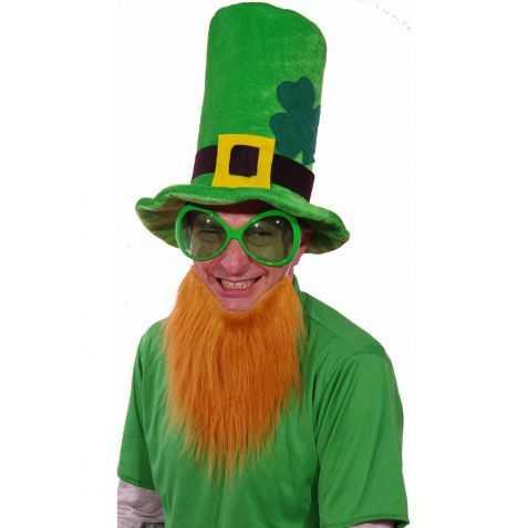 Chapeau velours vert Saint Patrick