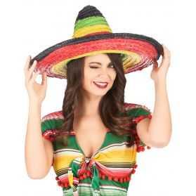 Sombrero adulte multicolore