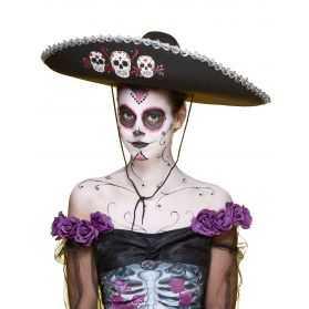 Sombrero Mexicain fête des morts
