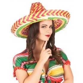 Sombrero coloré adulte