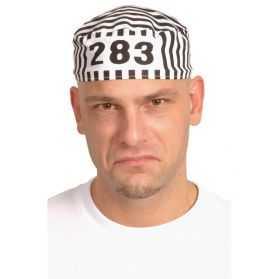 Calot de prisonnier avec numéro