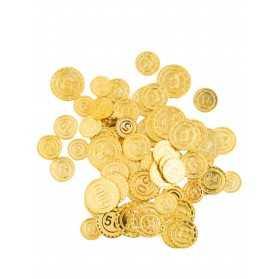 50 Pièces de monnaie pirate