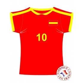 Décoration murale maillot Espagne