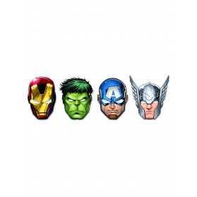 Masques en carton Avengers